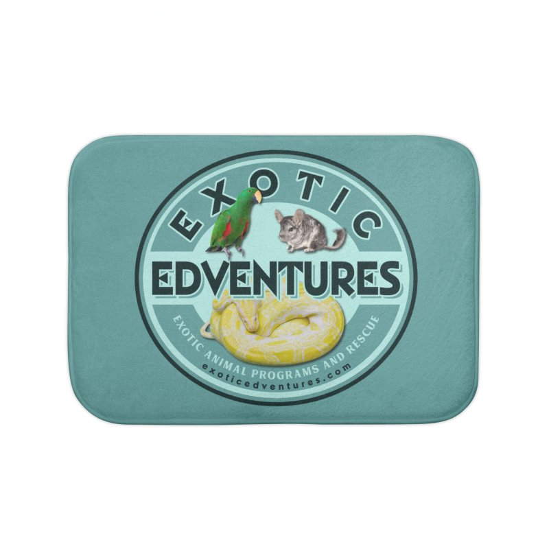 Exotic Adventures Home Bath Mat by Drawn to Scales