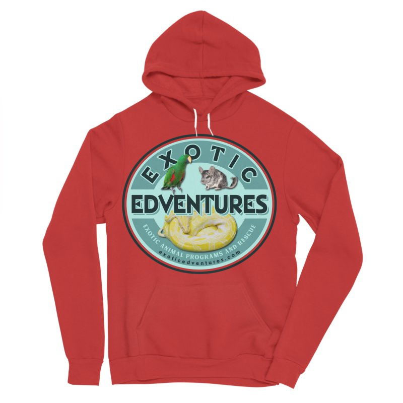 Exotic Adventures Men's Pullover Hoody by Drawn to Scales