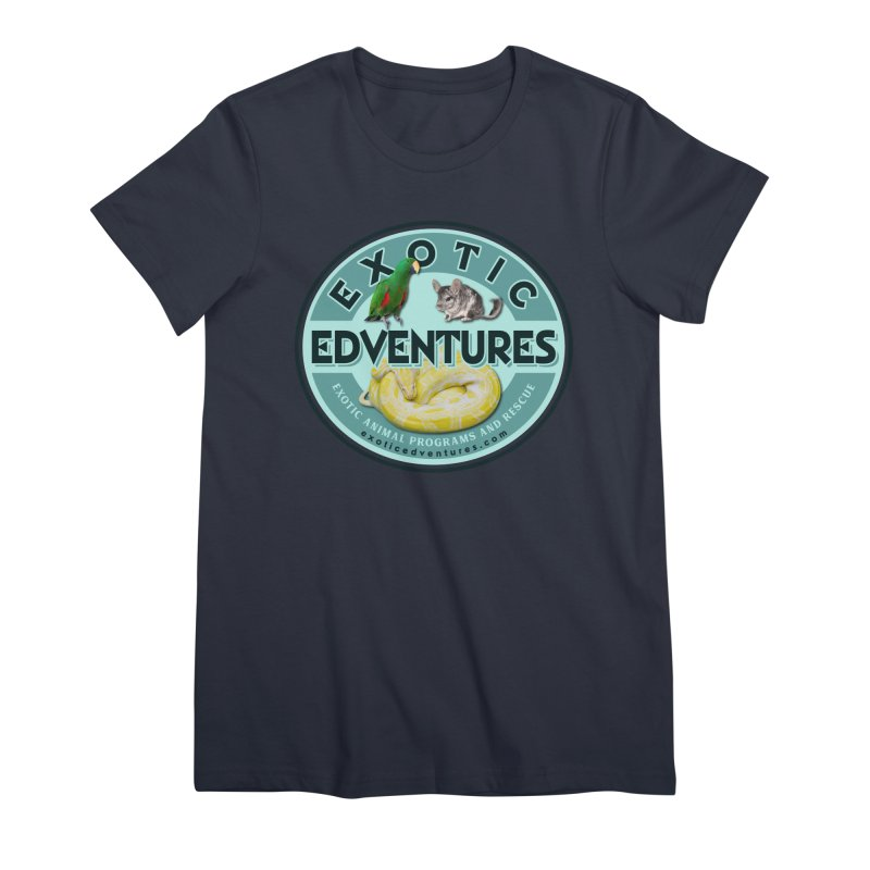 Exotic Adventures Women's Premium T-Shirt by Drawn to Scales