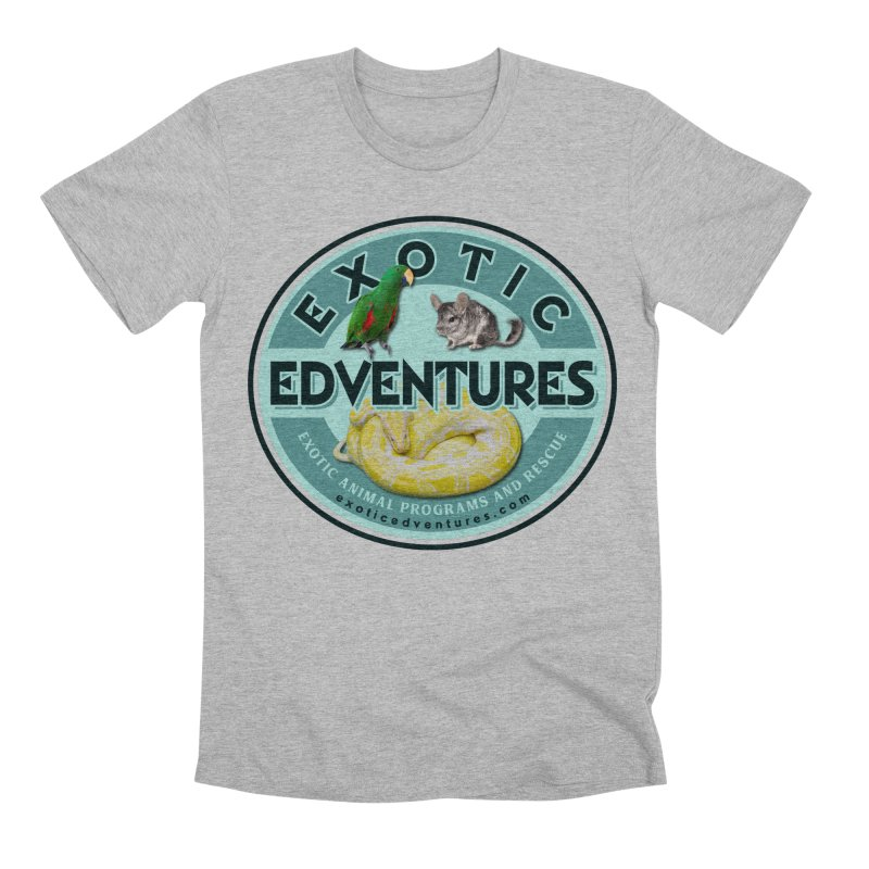 Exotic Adventures Men's Premium T-Shirt by Drawn to Scales