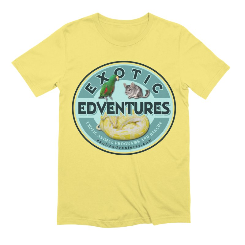 Exotic Adventures Men's Extra Soft T-Shirt by Drawn to Scales