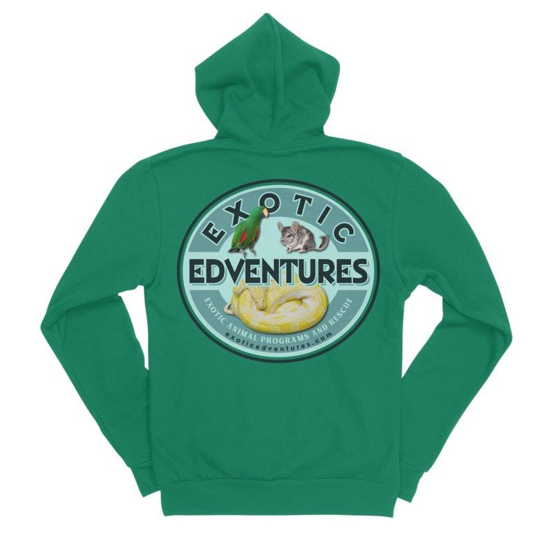 Exotic Adventures Women's Sponge Fleece Zip-Up Hoody by Drawn to Scales