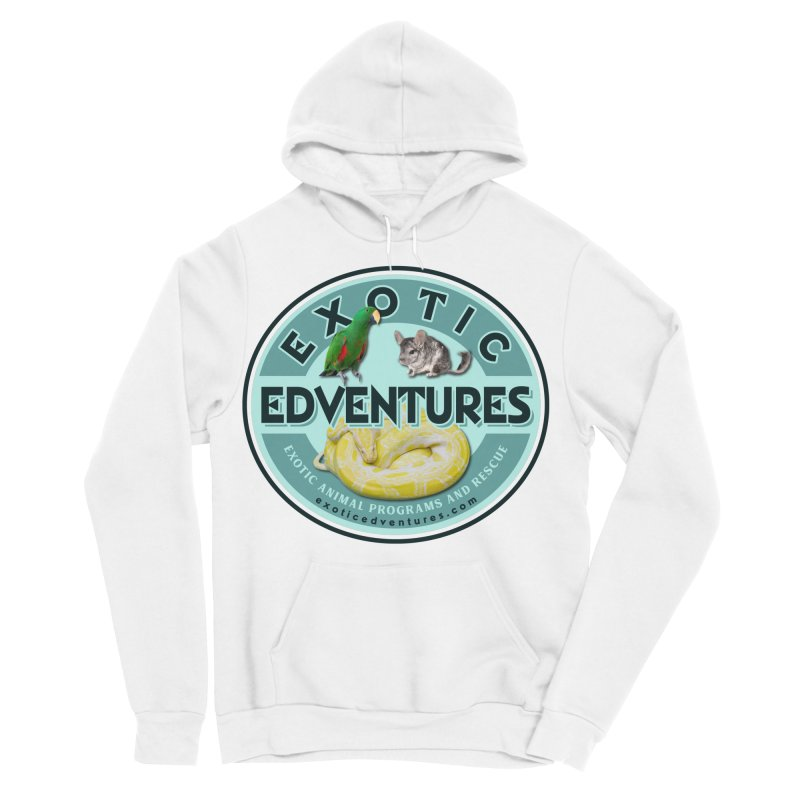 Exotic Adventures Women's Sponge Fleece Pullover Hoody by Drawn to Scales