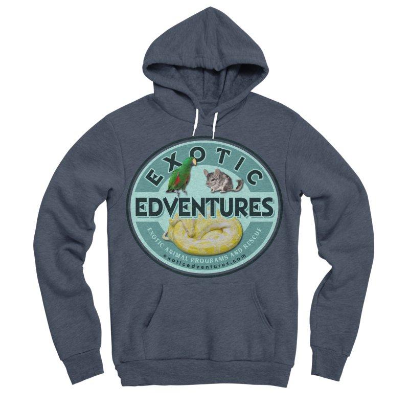 Exotic Adventures Men's Sponge Fleece Pullover Hoody by Drawn to Scales