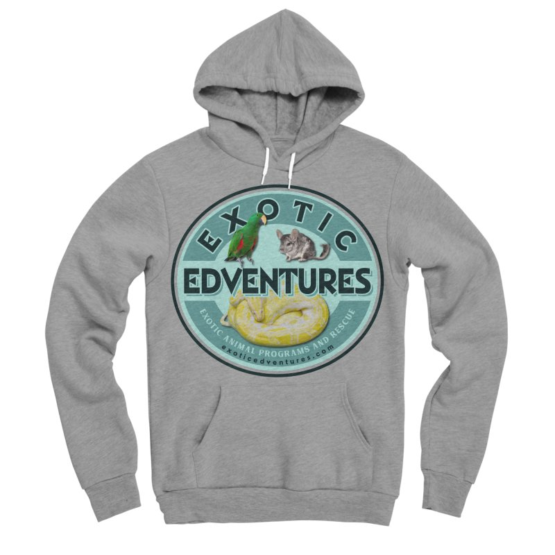 Exotic Adventures Men's Sponge Fleece Pullover Hoody by Drawn to Scales