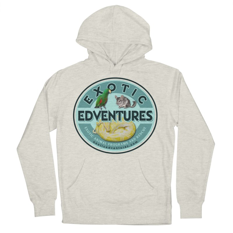 Exotic Adventures Women's French Terry Pullover Hoody by Drawn to Scales
