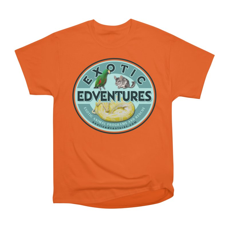Exotic Adventures Men's Heavyweight T-Shirt by Drawn to Scales