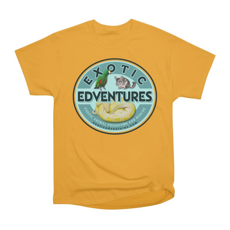 Exotic Adventures Women's Heavyweight Unisex T-Shirt by Drawn to Scales
