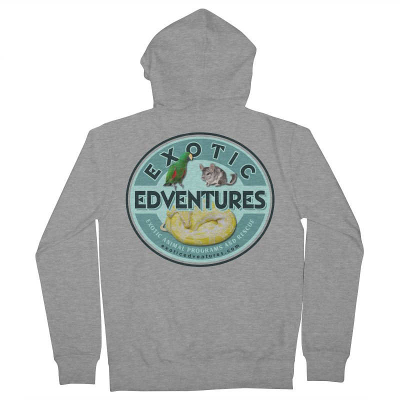 Exotic Adventures Women's French Terry Zip-Up Hoody by Drawn to Scales