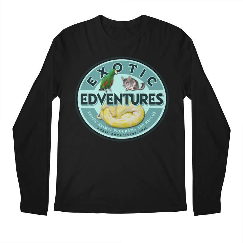 Exotic Adventures Men's Regular Longsleeve T-Shirt by Drawn to Scales
