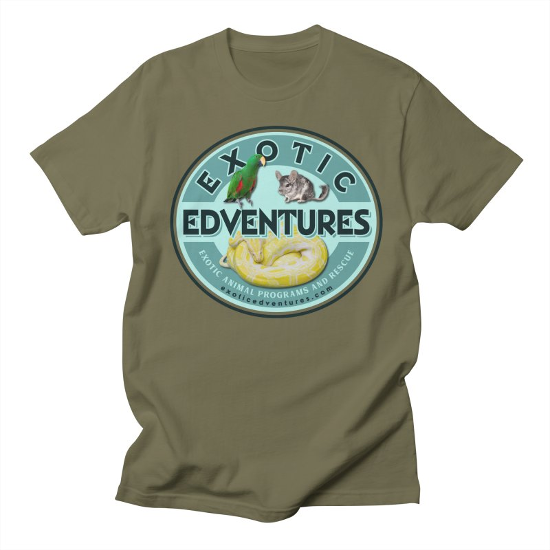 Exotic Adventures Women's Regular Unisex T-Shirt by Drawn to Scales