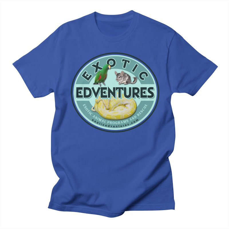 Exotic Adventures Men's Regular T-Shirt by Drawn to Scales