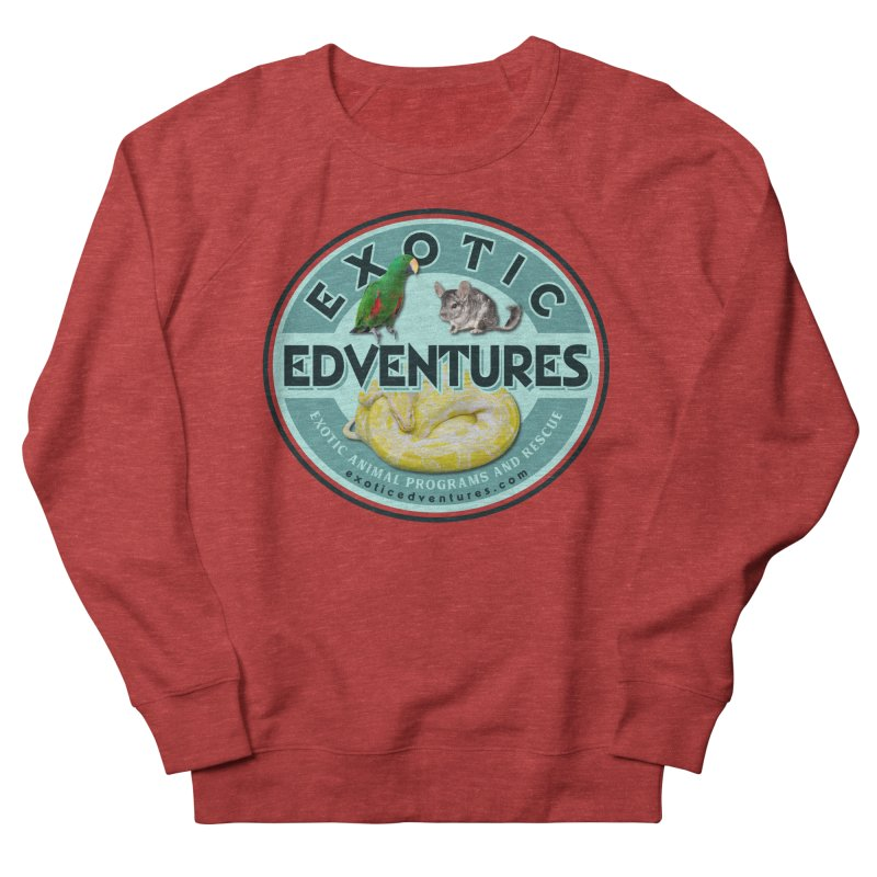 Exotic Adventures Women's French Terry Sweatshirt by Drawn to Scales