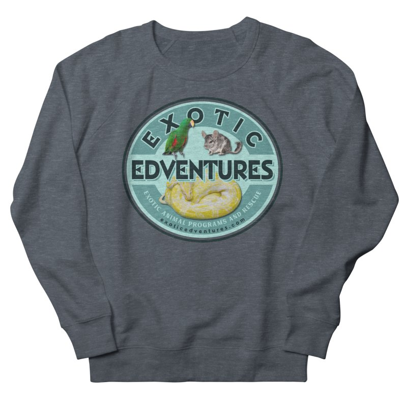 Exotic Adventures Men's French Terry Sweatshirt by Drawn to Scales