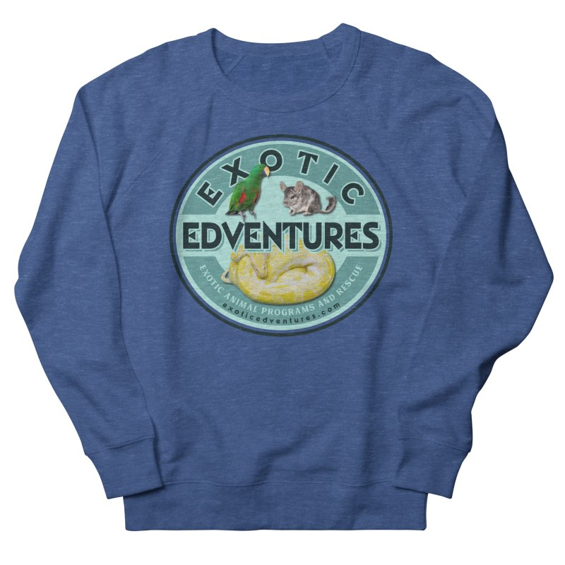 Exotic Adventures Men's Sweatshirt by Drawn to Scales