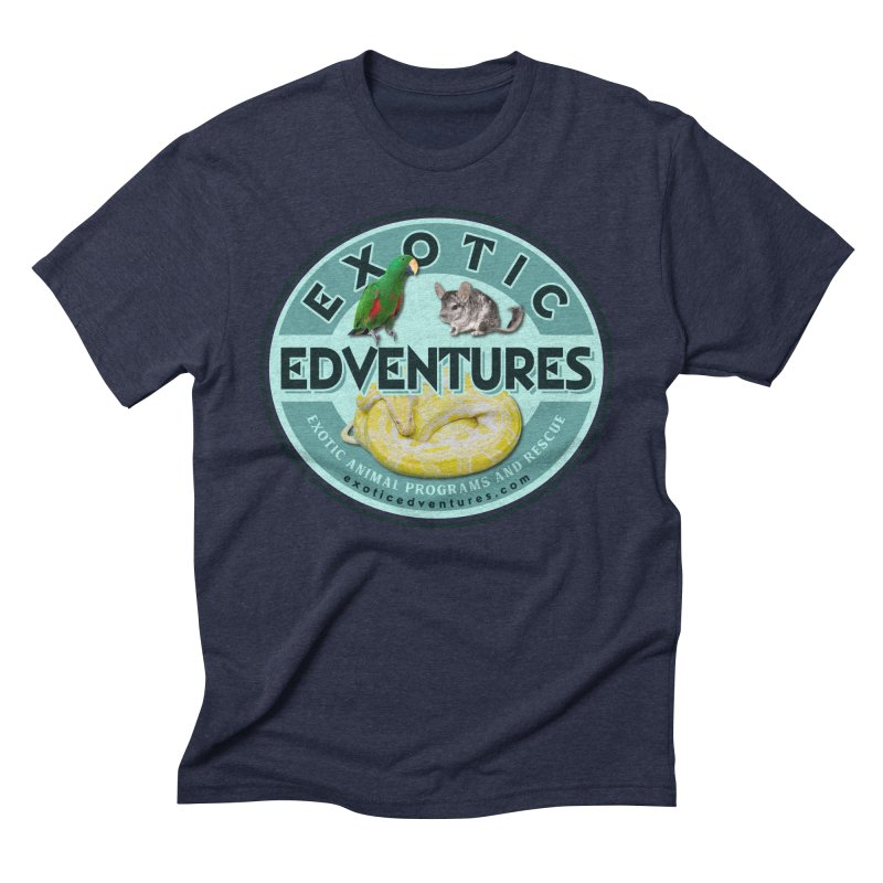 Exotic Adventures Men's Triblend T-Shirt by Drawn to Scales
