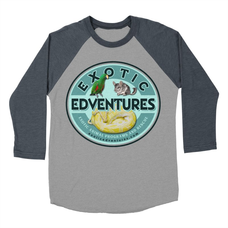 Exotic Adventures Women's Baseball Triblend Longsleeve T-Shirt by Drawn to Scales