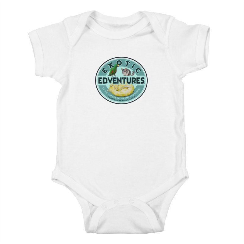 Exotic Adventures Kids Baby Bodysuit by Drawn to Scales