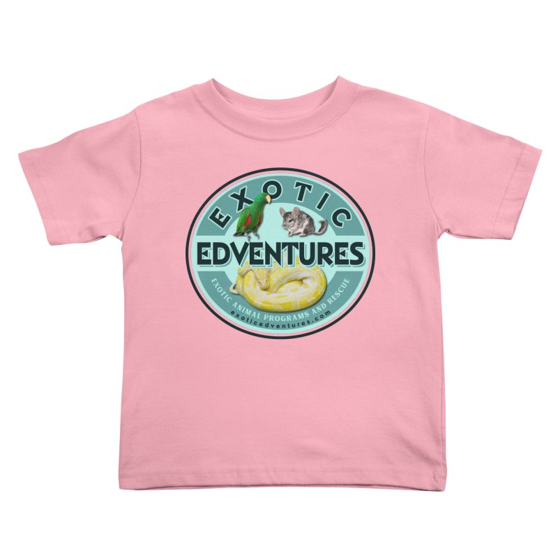 Exotic Adventures Kids Toddler T-Shirt by Drawn to Scales