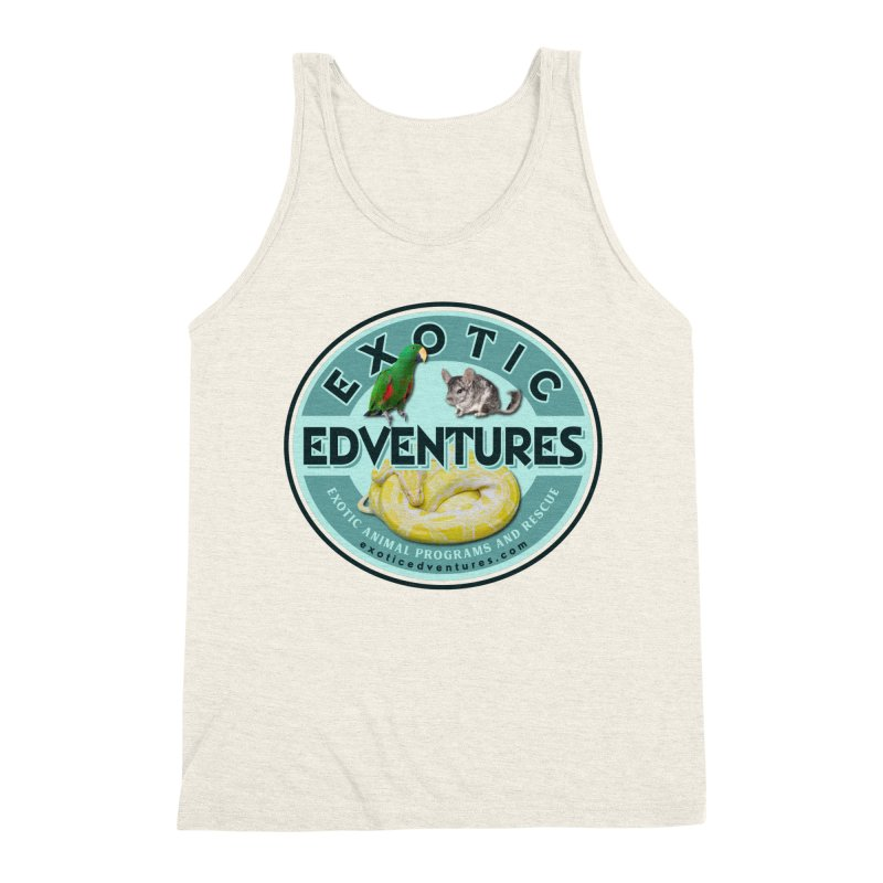 Exotic Adventures Men's Triblend Tank by Drawn to Scales