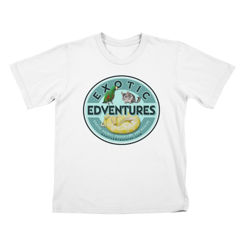 Exotic Adventures Kids T-Shirt by Drawn to Scales