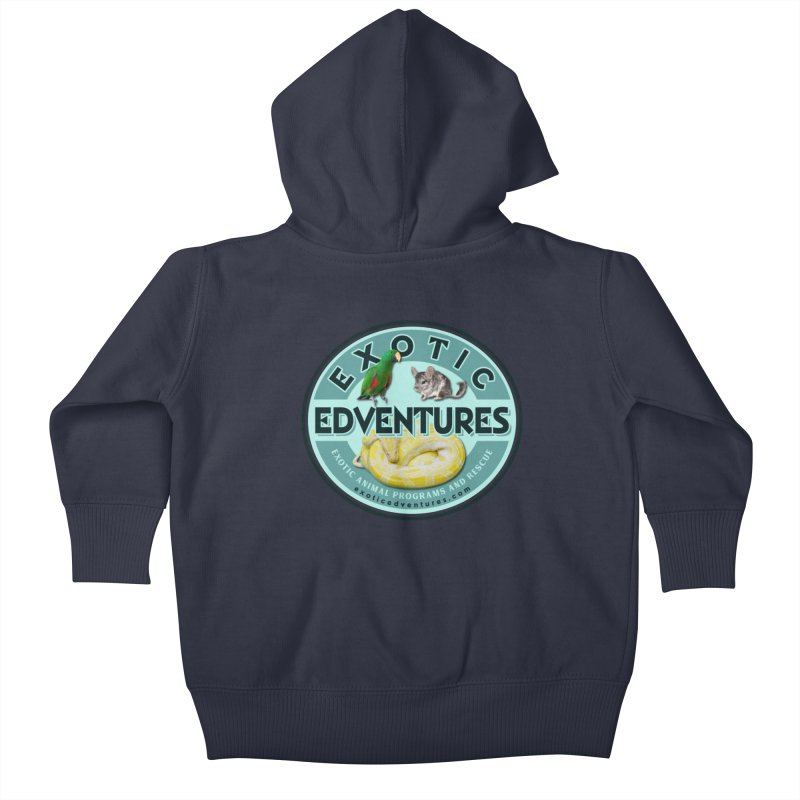 Exotic Adventures Kids Baby Zip-Up Hoody by Drawn to Scales