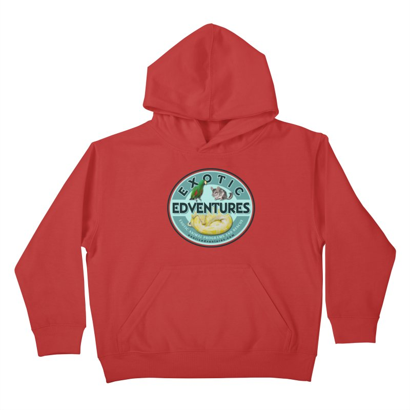 Exotic Adventures Kids Pullover Hoody by Drawn to Scales