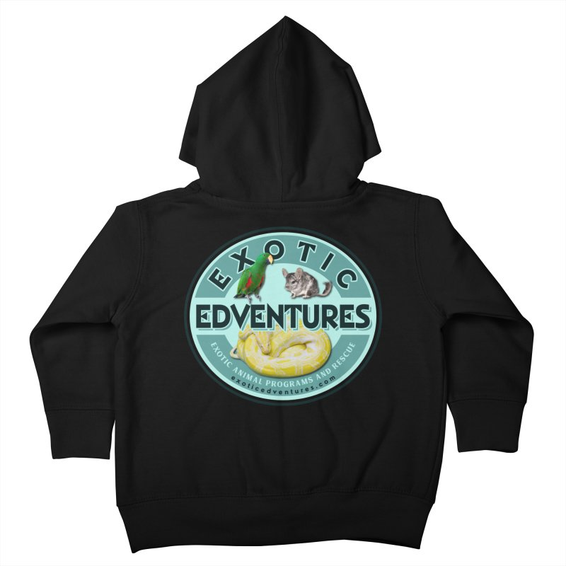 Exotic Adventures Kids Toddler Zip-Up Hoody by Drawn to Scales