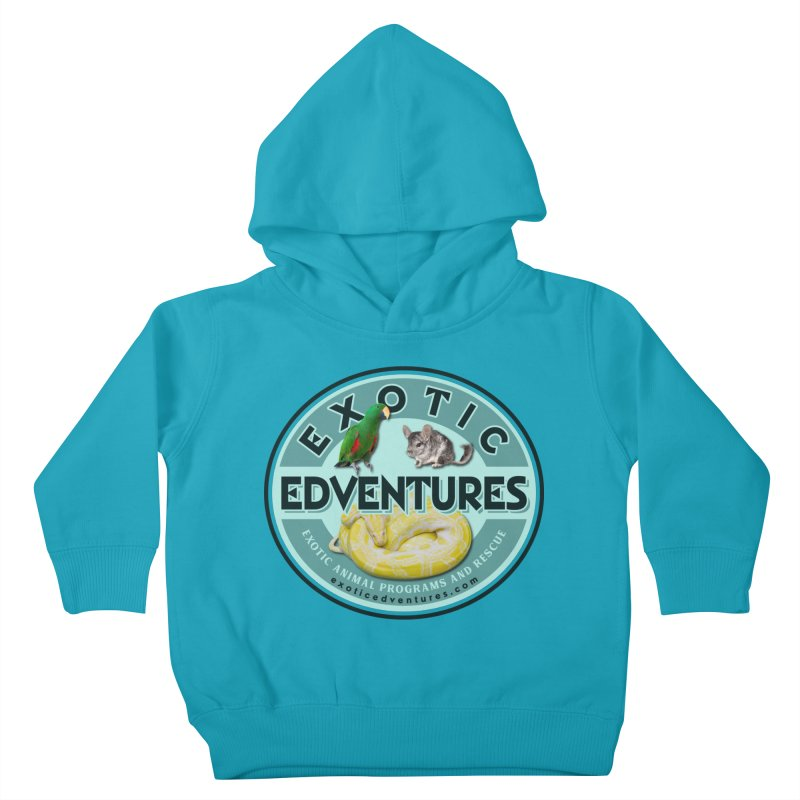 Exotic Adventures Kids Toddler Pullover Hoody by Drawn to Scales