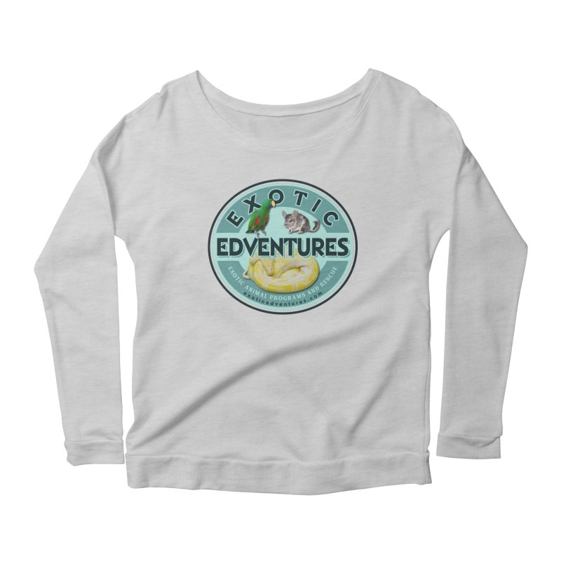 Exotic Adventures Women's Scoop Neck Longsleeve T-Shirt by Drawn to Scales