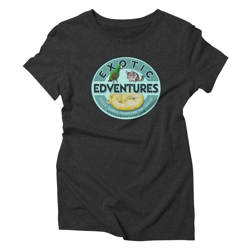 Exotic Adventures Women's Triblend T-Shirt by Drawn to Scales