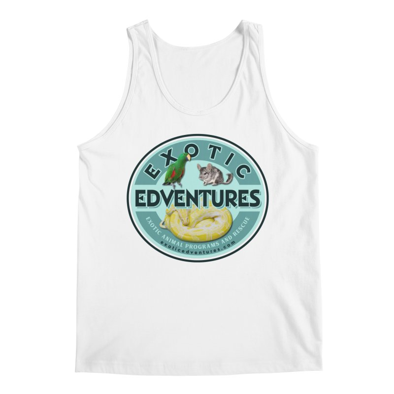Exotic Adventures Men's Regular Tank by Drawn to Scales