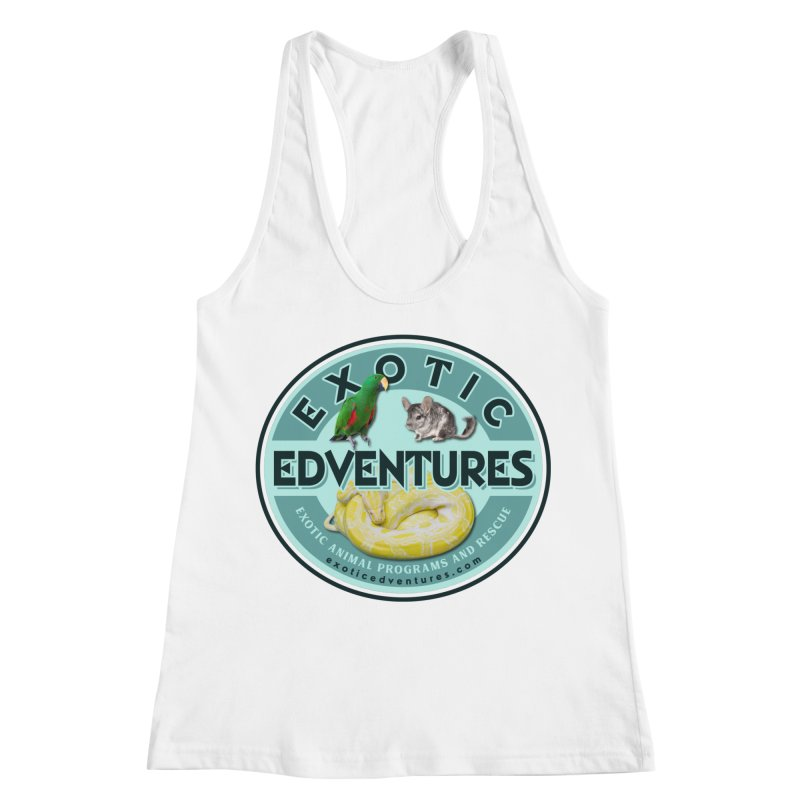 Exotic Adventures Women's Racerback Tank by Drawn to Scales