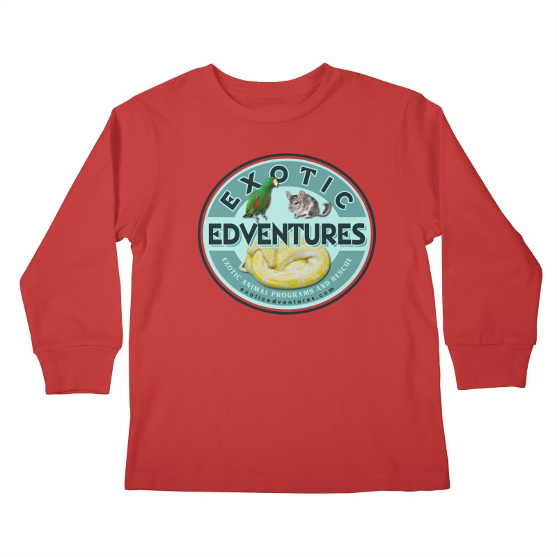 Exotic Adventures Kids Longsleeve T-Shirt by Drawn to Scales