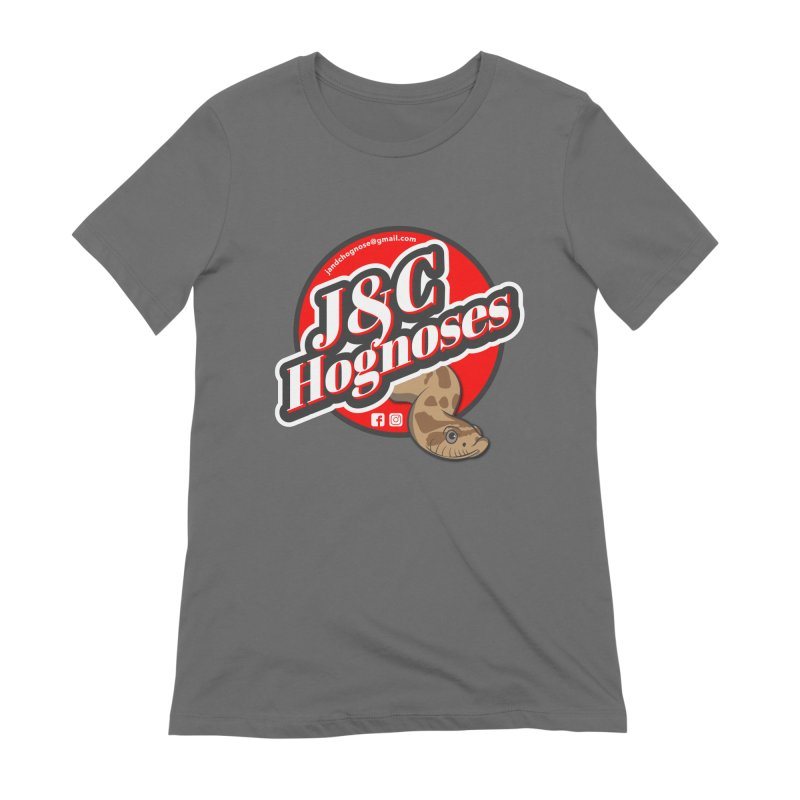 J&C Hognose Women's Extra Soft T-Shirt by Drawn to Scales