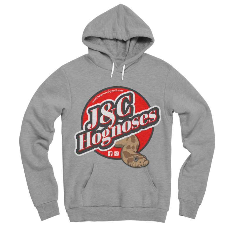 J&C Hognose Women's Sponge Fleece Pullover Hoody by Drawn to Scales