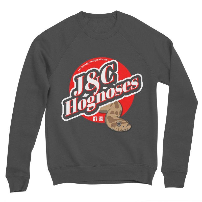 J&C Hognose Men's Sponge Fleece Sweatshirt by Drawn to Scales