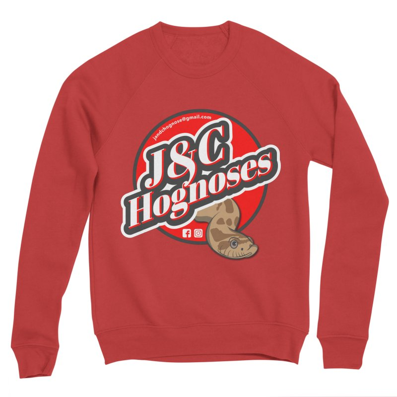 J&C Hognose Women's Sponge Fleece Sweatshirt by Drawn to Scales