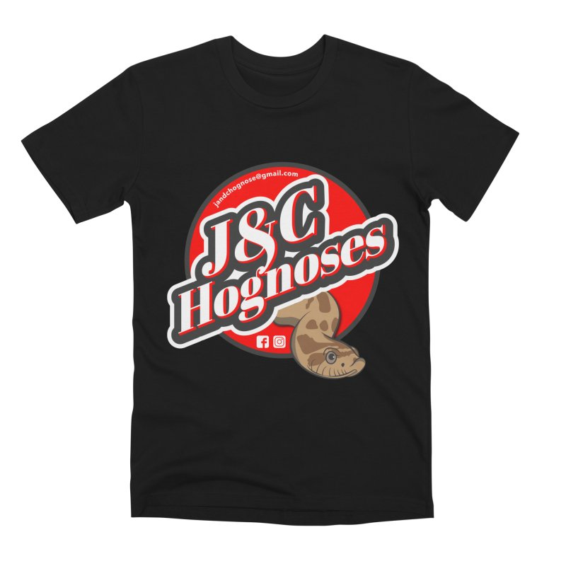 J&C Hognose Men's Premium T-Shirt by Drawn to Scales