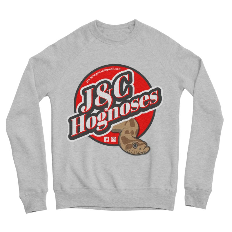 J&C Hognose Men's Sponge Fleece Sweatshirt by Drawn to Scales