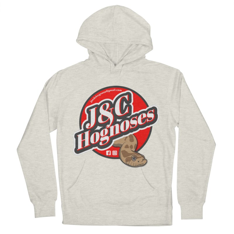 J&C Hognose Women's French Terry Pullover Hoody by Drawn to Scales