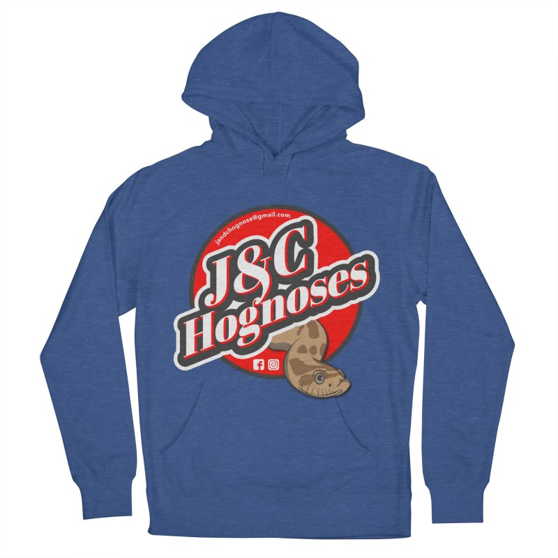 J&C Hognose Men's French Terry Pullover Hoody by Drawn to Scales