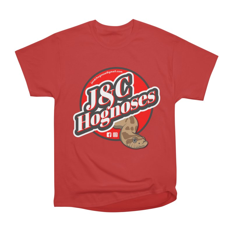 J&C Hognose Men's Heavyweight T-Shirt by Drawn to Scales