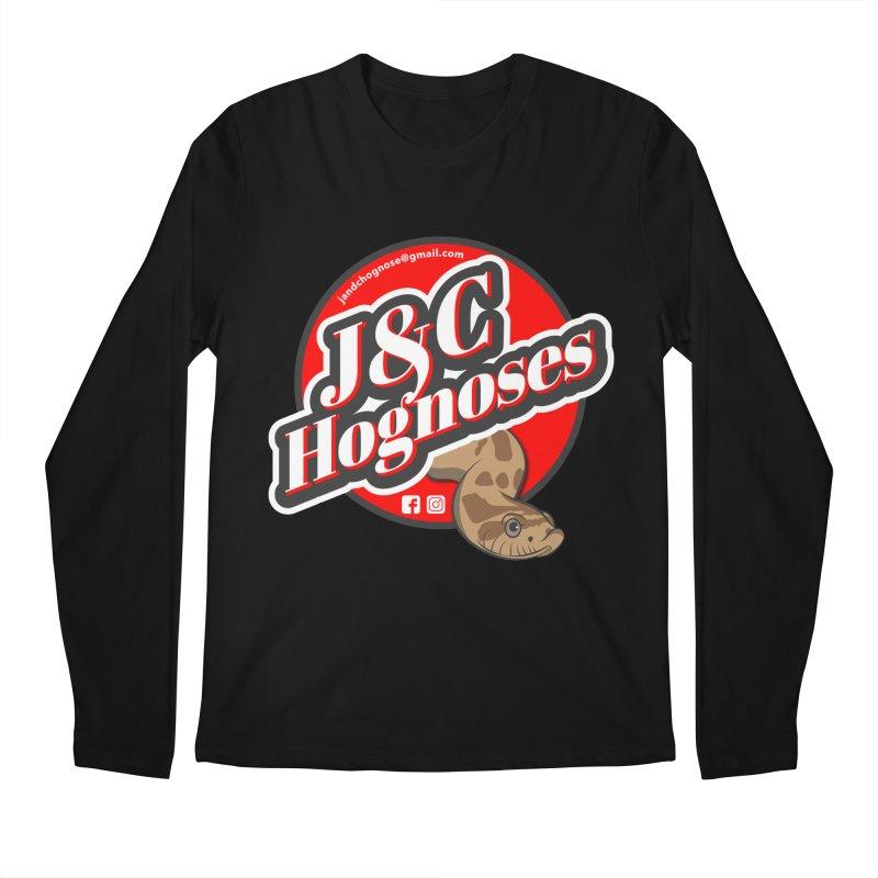 J&C Hognose Men's Regular Longsleeve T-Shirt by Drawn to Scales