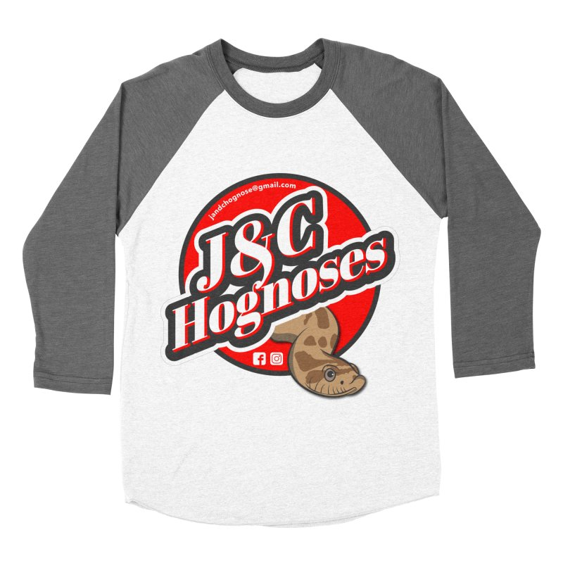 J&C Hognose Women's Baseball Triblend Longsleeve T-Shirt by Drawn to Scales