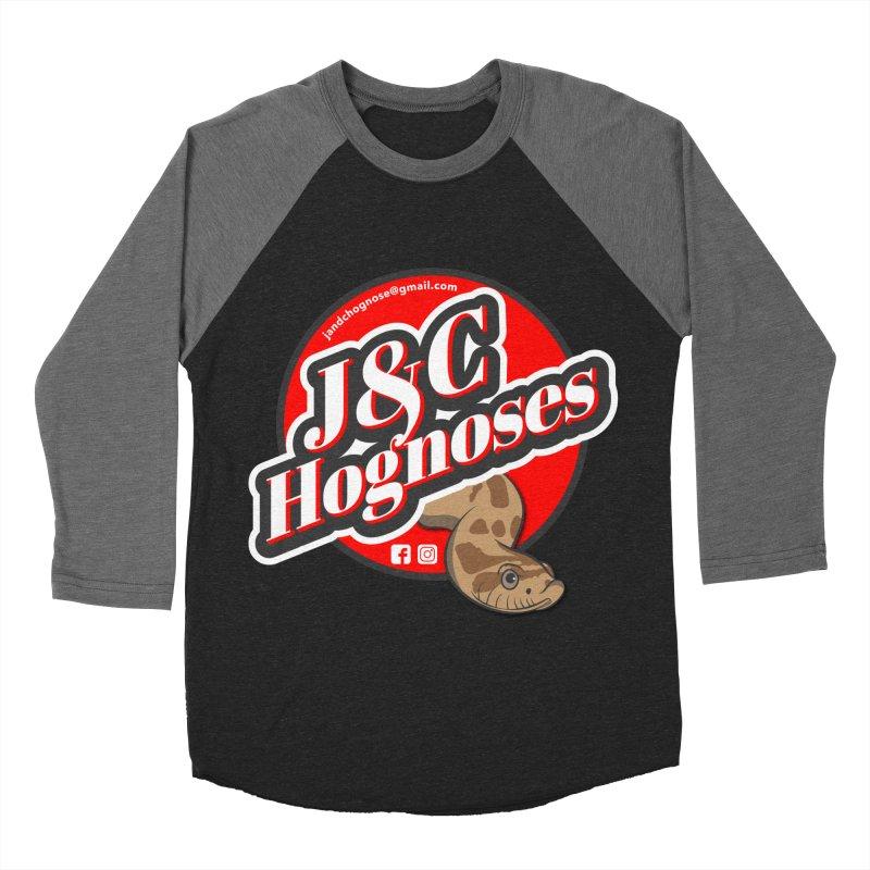 J&C Hognose Women's Baseball Triblend Longsleeve T-Shirt by Drawn to Scales