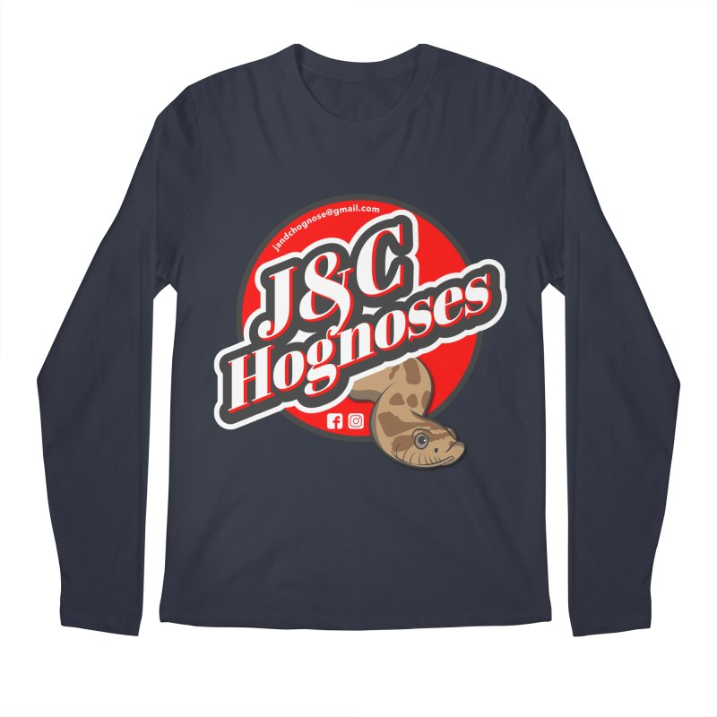 J&C Hognose Men's Regular Longsleeve T-Shirt by Drawn to Scales
