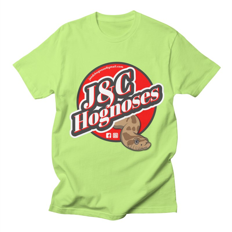 J&C Hognose Men's Regular T-Shirt by Drawn to Scales