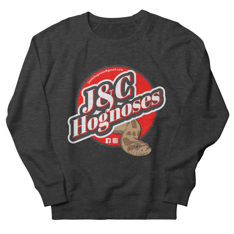 J&C Hognose Men's French Terry Sweatshirt by Drawn to Scales