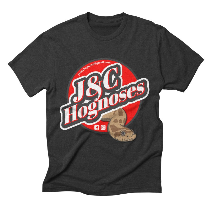 J&C Hognose Men's Triblend T-Shirt by Drawn to Scales